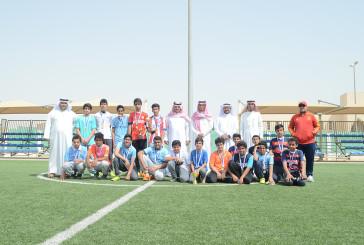 صف 3-3 بطلاً لكأس بطولة جنود الوطن لكرة القدم للمرحلة المتوسطة