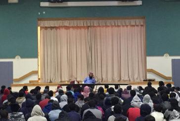 محاضرة رائعة للشيخ ابراهيم الزيات بعنوان : فضل اللغة العربية
