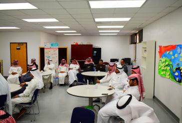 اجتماع قائد المجمع مع معلمي القسم الثانوي