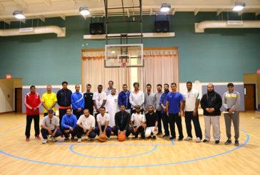 البرنامج التدريبي و التحكيمي لكرة السلة لمعلمي التربية البدنية