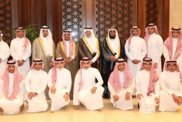 زيارة إدارة و طلاب المجمع لأمير المنطقة الشرقية الأمير سعود بن نايف