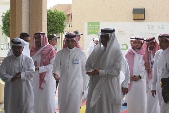 وزير التعليم يلقتى بقيادات تعليم الشرقية بالمجمع