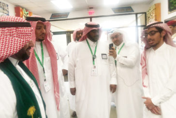 مدير عام التعليم بالمنطقة الشرقية يدشن مشروع سقيا شهداء الواجب