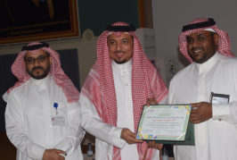 تكريم اللجان المشاركة في احتفاء المكتب باليوم الوطني
