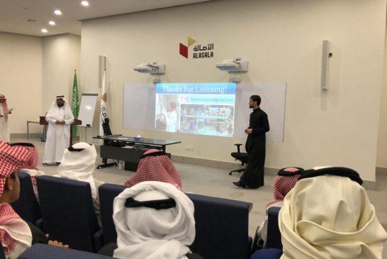 زيارة فعاليات اليوم الخليجي للموهبة والإبداع